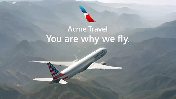 American Airlines - Personalized video