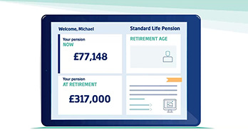 Marketing personalized video solutions for Pensions and Retirement - Standard Life